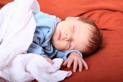 Sleeping newborn baby girl Royalty Free Stock Photo