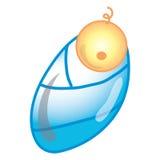Newborn baby icon Stock Photography