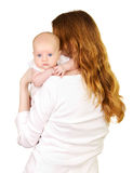 Newborn baby with mother Royalty Free Stock Photo