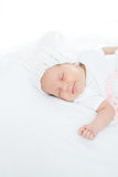 Newborn baby one month age Royalty Free Stock Image