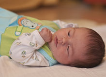 Newborn baby resting Royalty Free Stock Photo