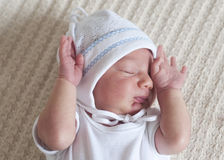 Newborn baby sleeping Royalty Free Stock Photos