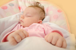 Newborn baby sleeping Royalty Free Stock Photography