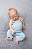 Newborn Baby Sleeping on Blanket Royalty Free Stock Image