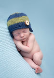 Newborn Baby Sleeping Stock Photography