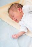 Newborn baby sleeping, 3 days old Royalty Free Stock Photo