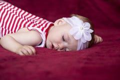 Newborn baby sleeping Royalty Free Stock Image