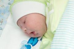 Newborn baby sleeps Royalty Free Stock Photography