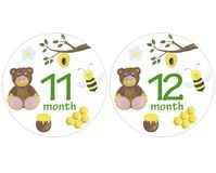 Newborn baby stickers for months watercolor illustration photo session design stickers scrapbooking greeting cards invitations hol. Illustration Newborn baby stock illustration