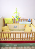 Newborn bed musical toy Stock Image