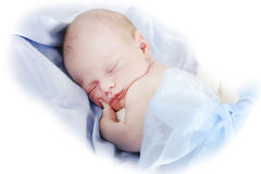 Newborn boy Royalty Free Stock Photo