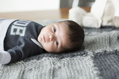 Newborn boy Royalty Free Stock Photos