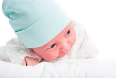 The newborn child Stock Photography