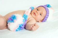 The newborn child Royalty Free Stock Photos