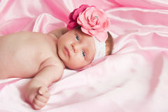 The newborn child Stock Photography