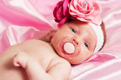 The newborn child Royalty Free Stock Images