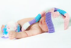 The newborn child Royalty Free Stock Photos
