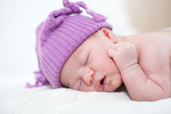 Newborn child Stock Photos