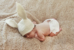 Newborn child Royalty Free Stock Photography