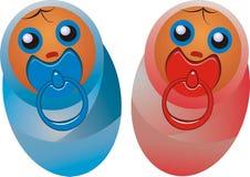 Newborn children Stock Images