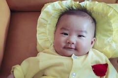 Newborn chinese baby stock image