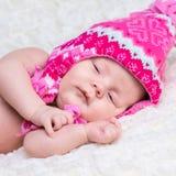 Newborn cute baby Stock Image