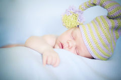Newborn dreams Stock Image