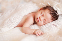 Newborn dreams Stock Images