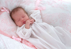 Newborn dreams Stock Photos