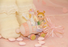 Newborn girl Royalty Free Stock Photos