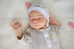 Newborn Girl Royalty Free Stock Image