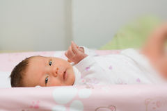 Newborn Girl Royalty Free Stock Images