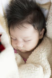 Newborn Baby Girl Royalty Free Stock Images