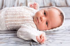 Newborn Infant sleeping Royalty Free Stock Photo