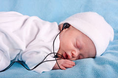 The newborn kid Stock Images