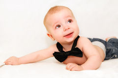 Newborn men Royalty Free Stock Photos