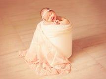 Newborn one week old Royalty Free Stock Photos