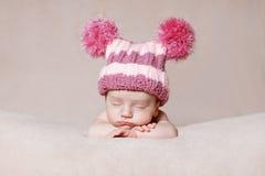 Newborn relaxing Stock Images