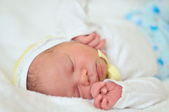 Newborn's dreams Royalty Free Stock Image