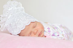 Newborn's dreams Stock Image