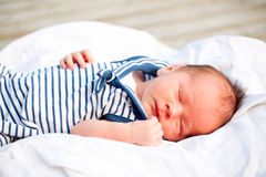 Newborn sailor Royalty Free Stock Photography