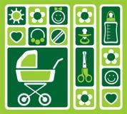 Newborn set Stock Photos
