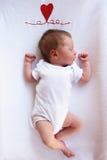 Newborn sleeping Royalty Free Stock Photography