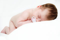 Newborn sleeping child Royalty Free Stock Photography