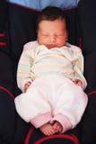 Newborn sleeping Royalty Free Stock Images