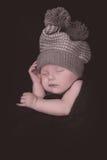 Newborn sleeping Stock Images