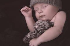 Newborn sleeping Royalty Free Stock Image