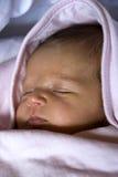 Newborn - Sweet sleeping stock image