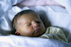 Newborn - Sweet sleeping Royalty Free Stock Photo