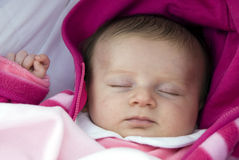 Newborn - Sweet sleeping Stock Photo